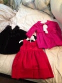 Baby Dozier's first clothes