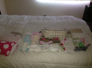 Everything laid out!