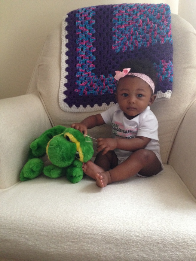 Happy 7 months baby girl!